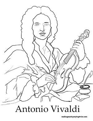 Free Online Resource for Kids - The life and work of Antonio Vivaldi