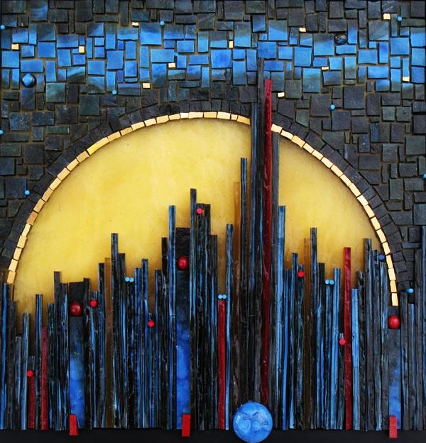 Vertical Reach / Mosaic (by Kelley Knickerbocker)