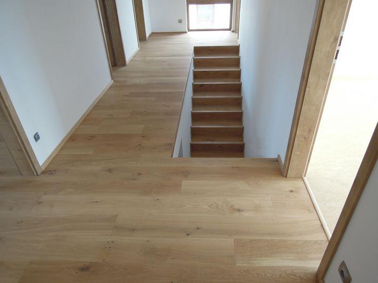 Interiérové studio Heth / fotky z našich realizací / 3-vrstvá přírodní dubová prkna a obložení schodiště