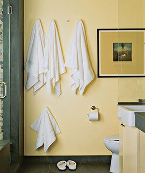 17 Best Images About Hanging Towel Solutions On Pinterest