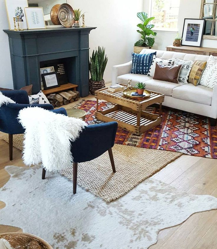Best 25+ Layering rugs ideas on Pinterest | Dark sofa, Colorful ...