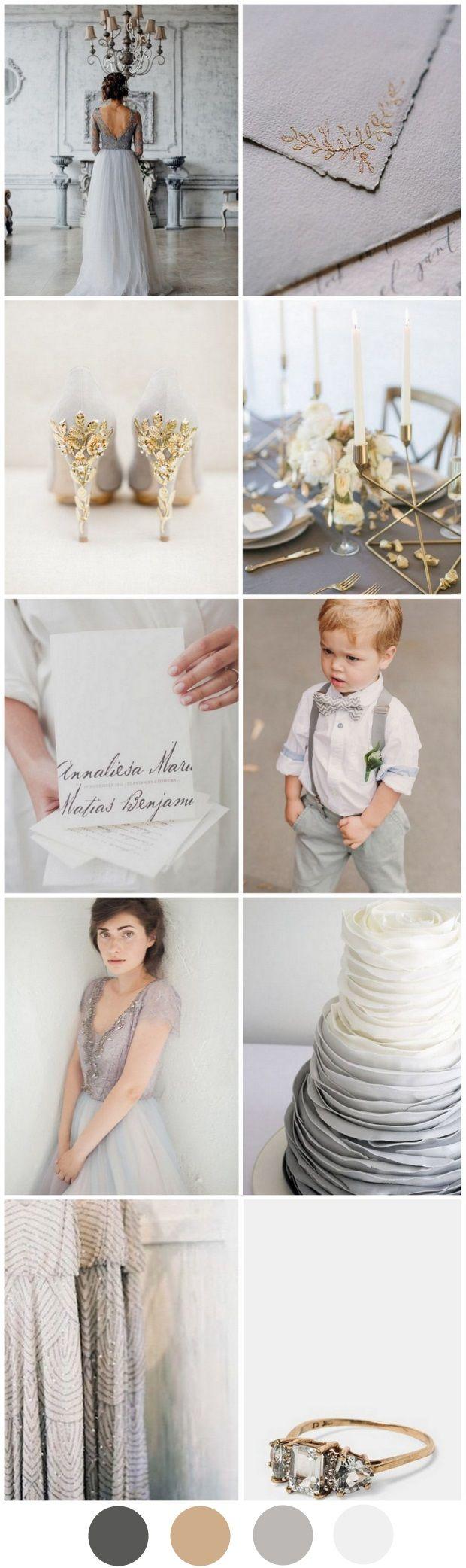 Best 25 grey wedding shoes ideas on pinterest grey wedding your gorgeous gold grey wedding palette ombrellifo Gallery