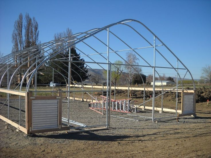 29 best high tunnel / hoop house images on pinterest | greenhouse