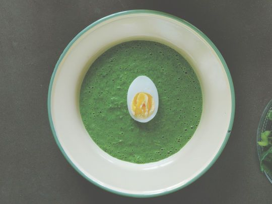 Soupe d'épinard