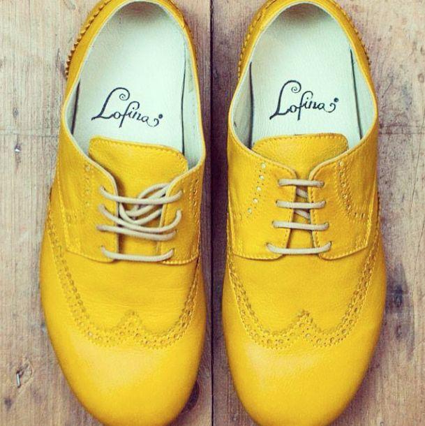 #lofina #brogues #yellow #shoes #bluewomensclothing FOLLOW US ON INSTAGRAM  @bluewomensclothing