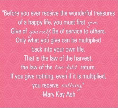 Mary Kay Ash www.marykay.com/Gina.jensen