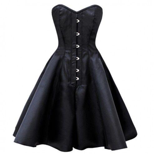 Top 25  best Black corset dress ideas on Pinterest | Bustier dress ...