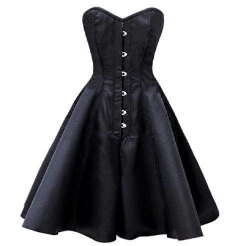 17 Best ideas about Black Corset Dress on Pinterest | Corsets, Red ...