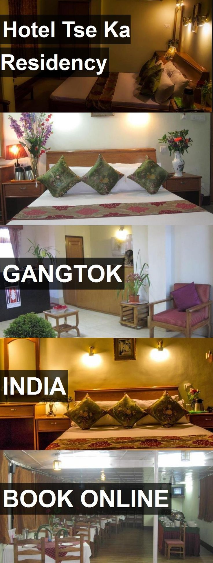 Hotel Tse Ka Residency in Gangtok, India. For more information, photos, reviews and best prices please follow the link. #India #Gangtok #travel #vacation #hotel
