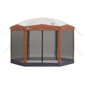 Coleman 12×10 Hex Instant Screened Shelter