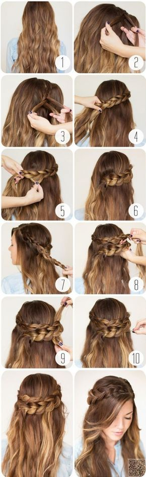 25. #Wraparound Braid - 43 #Fancy Braided Hairstyle #Ideas from Pinterest ... → Hair #Hairstyle