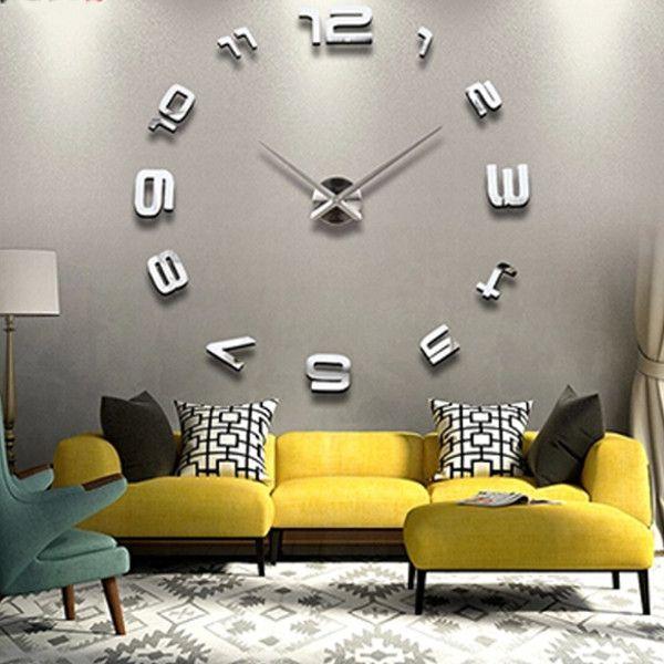 Best 10 Mirror wall clock ideas on Pinterest Scandinavian wall