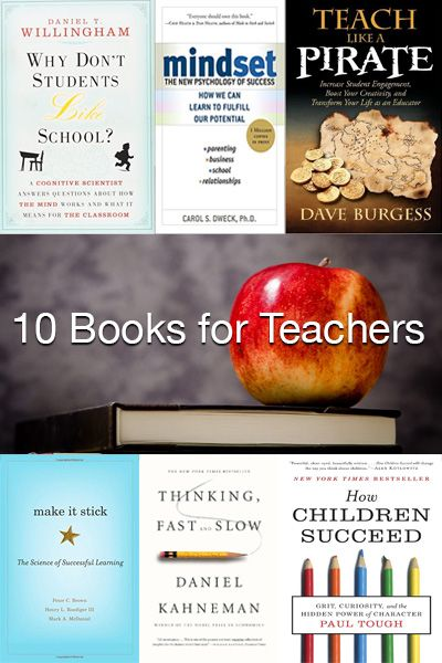 10 Books for Teachers that Every Educator Should Know About: These Books for Teachers Will Keep You Busy All Summer Long