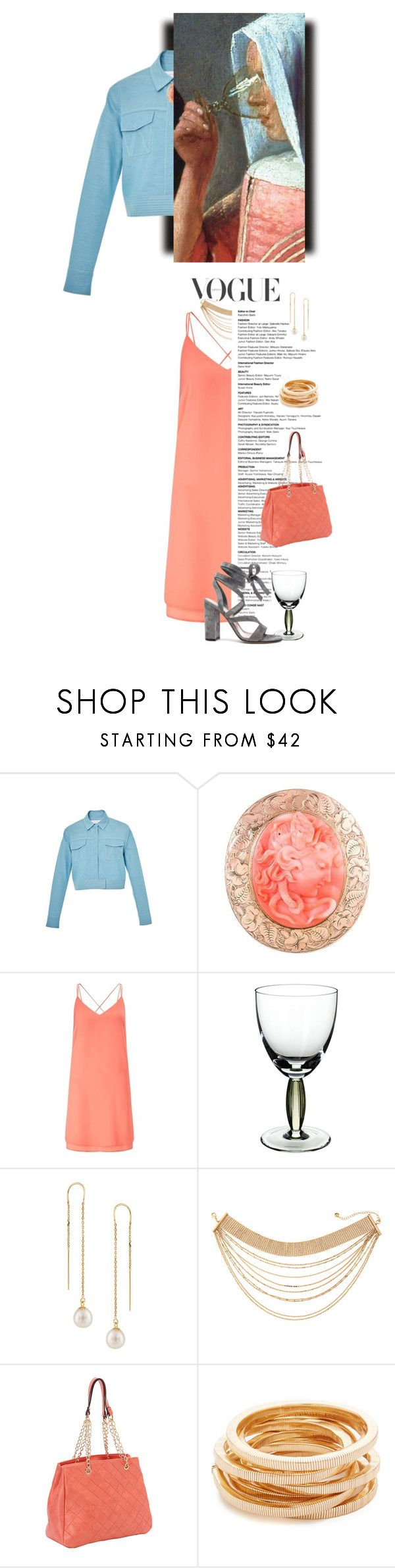 """""""vermeer coral plus"""" by jennifer ❤ liked on Polyvore featuring Marina Moscone, Miss Selfridge, Villeroy & Boch, Lydell NYC, SW Global, Kenneth Jay Lane and Gianvito Rossi"""