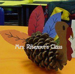 Thanksgiving craft ideaThanksgiving Crafts, Pinecomb Crafts, Kids Crafts, Fall Halloween Thanksgiving, Crafts Diy, Craft Ideas, Crafts Ideas Placeholder, November Crafts, Autumn Thanksgiving