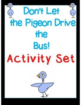 Don let the pigeon drive the bus big book