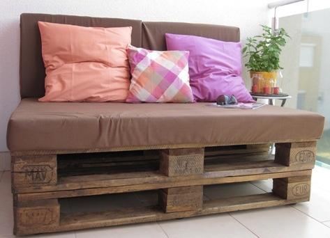 DIY palet sofa