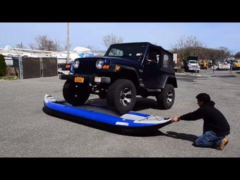 Inflatable Kayak Torture Test