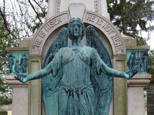 From my second Albany Rural Cemetery article on AOA