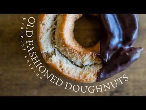 Old Fashioned Doughnuts (vegan) ☆ オールドファッションドーナッツの作り方 - YouTube