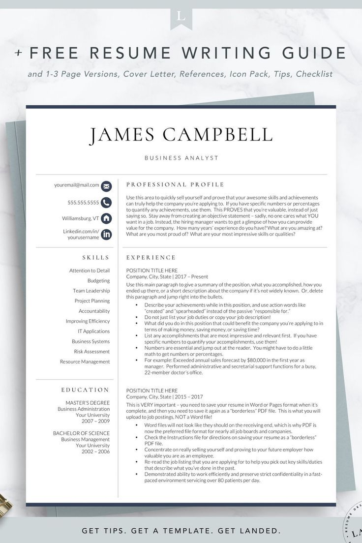 The Best Resume Examples That Will Get You Hired In 2020 In 2020
