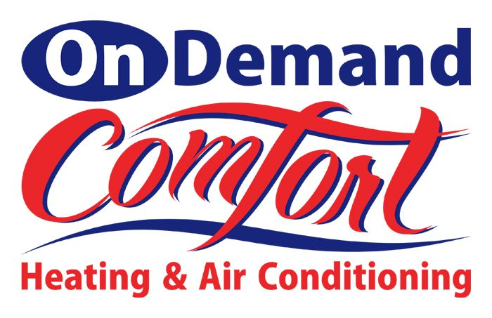 On Demand Comfort, #HVAC Heating and Air Conditioning Service and repair, Plumbing repair and installation. Old Chatham, NY. Logo design created by http://www.thebusinesslogo.com