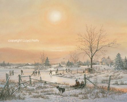 """Children's Winter"" by Lloyd Pretty"