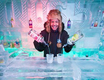 Minus 5º ICE BAR - Queenstown, New Zealand