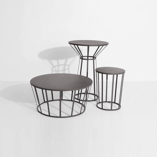 Hollo Round Table For Two Anthracite Amandine Chhor And Aissa