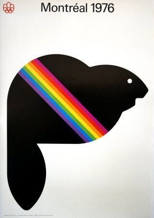 Some of those Canadians are really wonderful at designing posters!  (this is supposedly a beaver named Amik, by the way- in any case it looks fabulous)