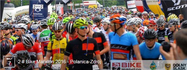 Jutro - zbiórka w Polanicy-Zdroju.   Drugie spotkanie w ramach Bike Maratonu zapowiada się niezwykle ciekawie - będą pierwsze podjazdy :)   Jak zwykle czekamy nas Was i mocno dopingujemy :)