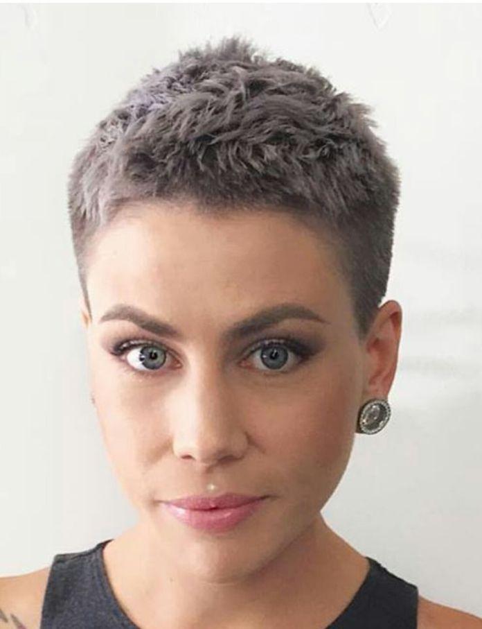 18 coiffures très courtes pour les femmes, pour émerveiller tout le monde #co…