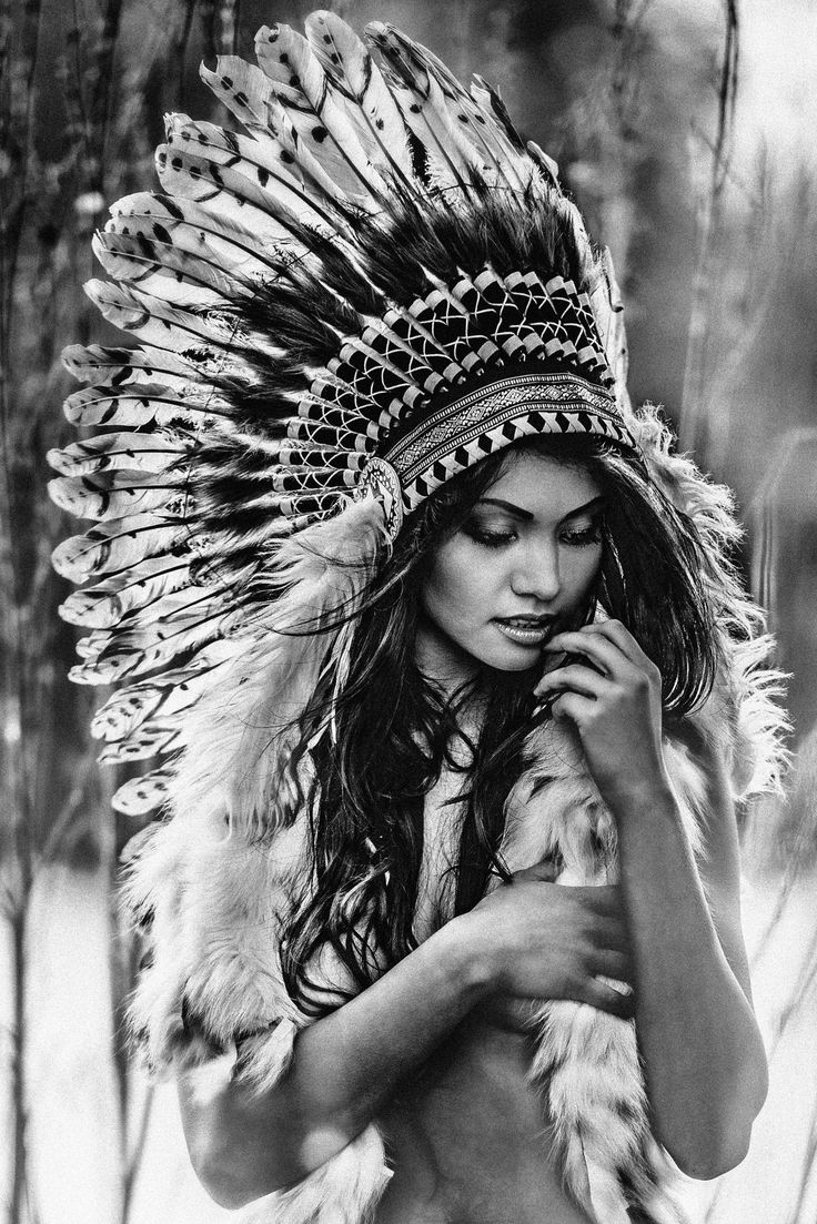 Naked american indian women portraits, jennifer white