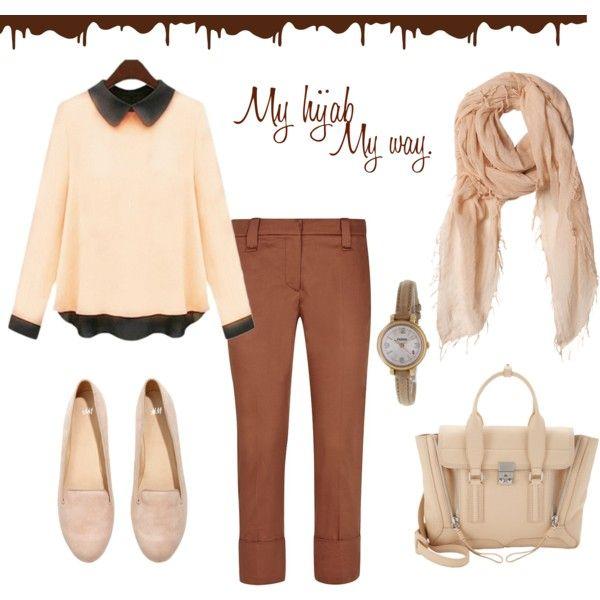 """Muslimah fashion 4"" by lai-la on Polyvore"