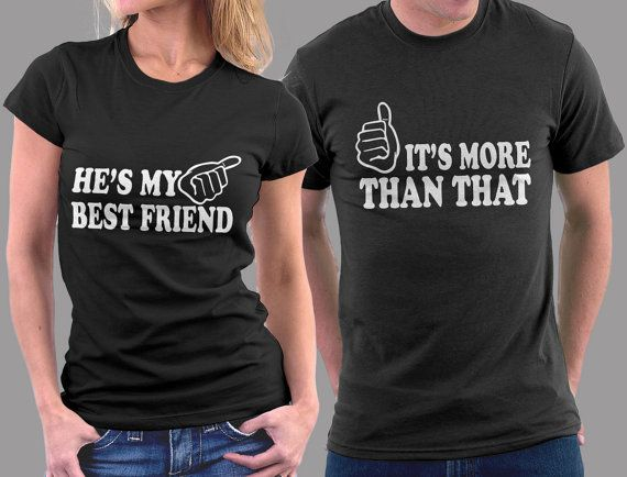 Funny Couple Shirt Ladies Fitted Adult Men Best Friend Boyfriend Girlfriend T Cute Shirts