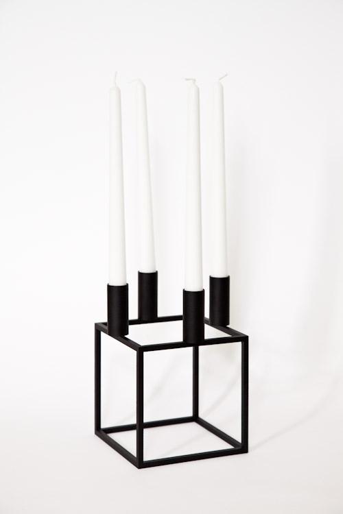 Kubus candle holder