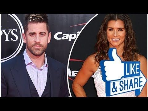 New couple alert? NFL superstar Aaron Rodgers has 'steamy date' with NASCAR's Danica Patrick... mon