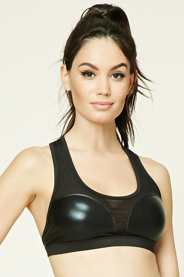 FOREVER 21 Low Impact - Mesh Sports Bra