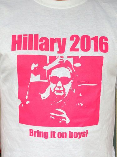 Hillary Clinton 2016 Presidential Election Political T Shirt Free Shipping | eBay