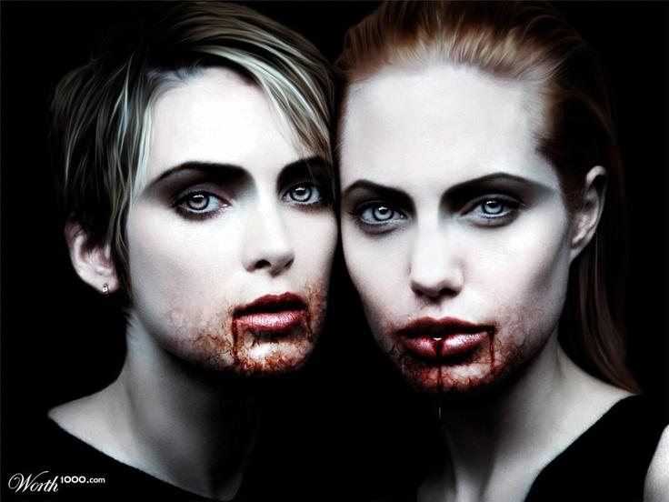 56 best makeup vampire images on pinterest. Black Bedroom Furniture Sets. Home Design Ideas
