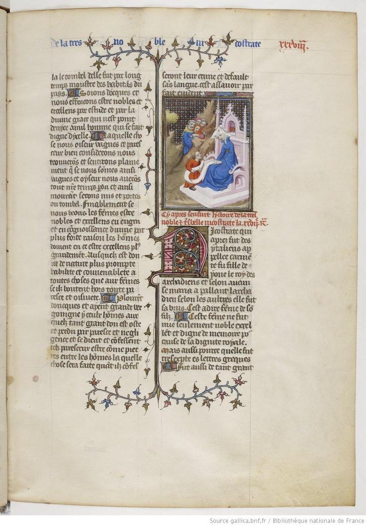 De Claris mulieribus, fol. 38.
