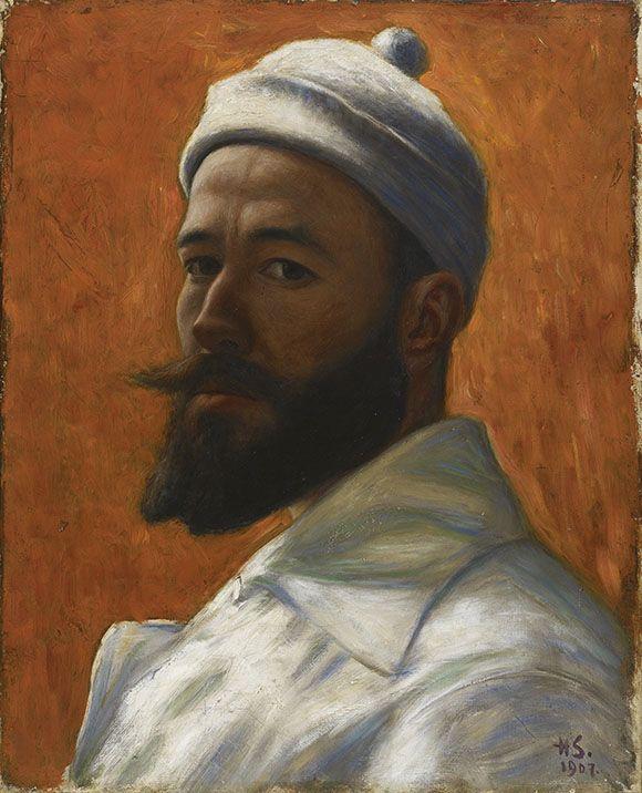 Hugo Simberg | Hugo Simbergin toinen maailma. Omakuva, 1907 Ateneum