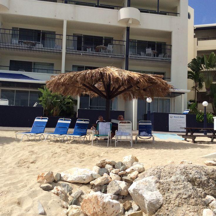 Palapa at Flamingo Beach Resort in SXM