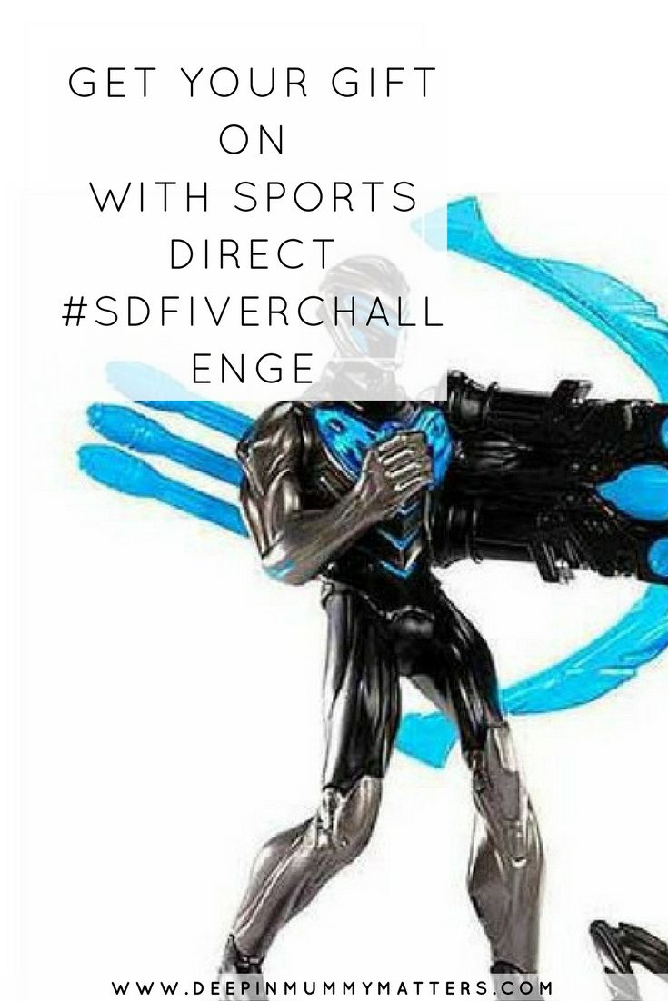 GET YOUR GIFT ON WITH SPORTS DIRECT #SDFIVERCHALLENGE