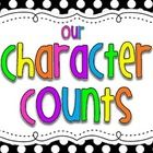 6 Pillars of Character: This is a set of posters that go along with the character traits in character counts. It has a poster for each of the 6 traits, plus a heading post...