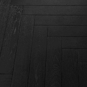 Wickes Herringbone Black Oak Engineered Wood Flooring