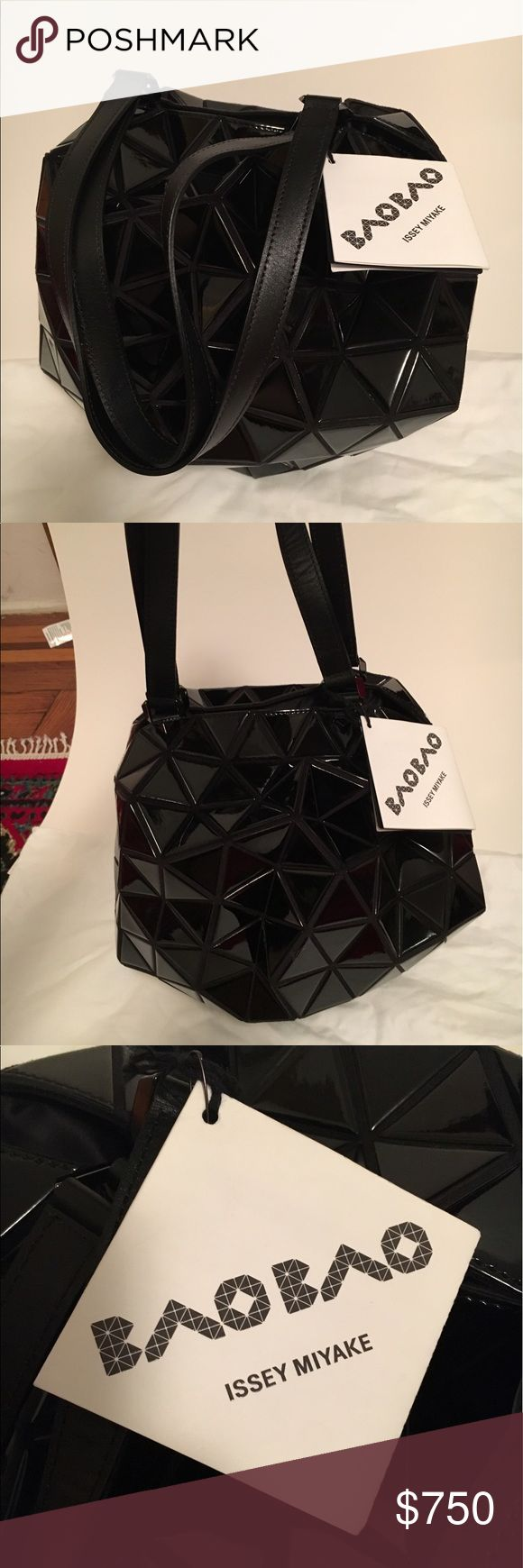 """Bao Bao Issey Miyake """"Planet"""" bag This is a brand new with tags Bao Bao Issey Miyake """"Planet"""" bag and its accompanying duster bag. It is made in Japan and retails for $1,220 directly from the designer.  Measurements: Height 11.8in Width 11.8in Depth 11.8in Issey Miyake Bags Shoulder Bags"""