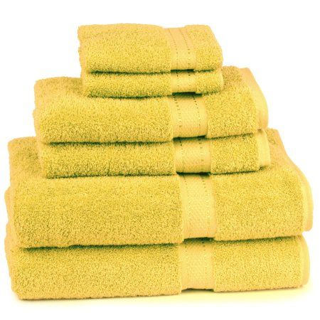 Cambridge Grand Egyptian Egyptian Cotton Towel Set (6 Pieces), Brown