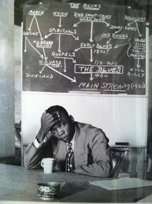 John Lee Hooker didn't need to study Blues Theory.