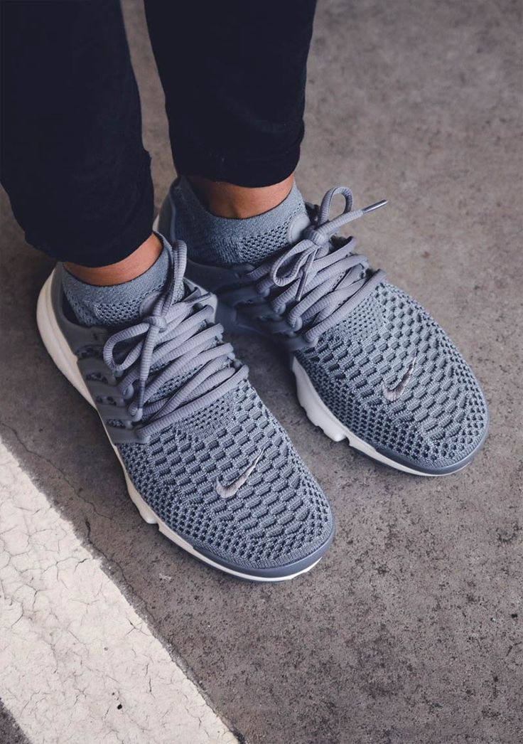 Tendance Chausseurs Femme 2017 NIKE Wmns Air Presto Flyknit cool grey (via  Kicks-d